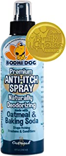 Anti Itch Oatmeal Spray for Dogs and Cats | 100% All Natural Hypoallergenic Soothing..