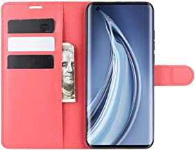 Wuzixi Case for Samsung Galaxy J2 Core 2020. Anti-Scratch, Flip Case Side suction Kickstand Feature Card Slots Case, PU Leather Folio Cover for Samsung Galaxy J2 Core 2020.Red