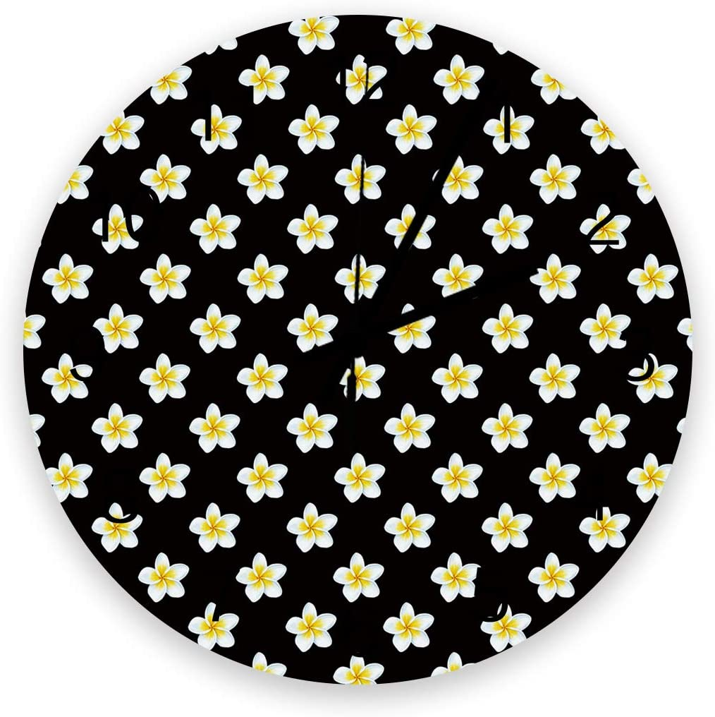 FAMILYDECOR Wall Clock Wooden Silent Daily bargain Cheap SALE Start sale Non-Ticking Clocks for