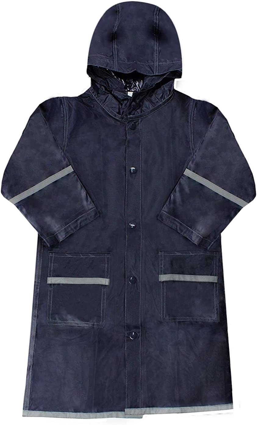 La Ranking TOP8 Mart overseas Boys Navy Blue Raincoat - 350 Reflecting
