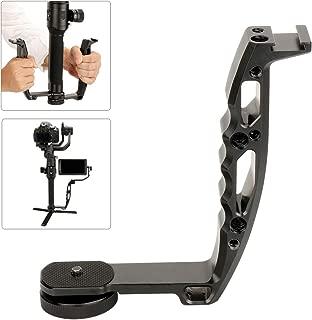 Gimbal Hand Grip Compatible for DJI Ronin S SC,Universal Handle Grip L Bracket Monitor Mount for Zhiyun Crane V2 WEEBILL/Moza AirCross/Hohem/Feiyu AK2000 4000 Gimbal Accessories