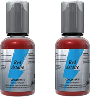 2x 30ml Red Astaire - Flavor Liquid Concentrate - Red Astaire E líquido T-Juice 30ML sin tabaco, sin nicotina