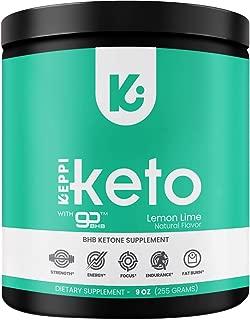 KEPPI Exogenous Ketones Keto Salts BHB Powder Supplement: Patented BHB Ketones Formulated to Increase Energy, Burn Fat, Maintain Ketosis and Mental Focus