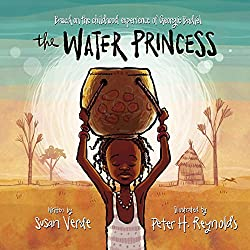 Screenshot of the cover of the book The Water Princess