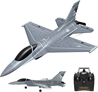 VOLANTEXRC 4 Channel Remote Control Airplane 2.4GHz RC Jet F-16 Fighting Falcon RC Aircraft Fighter Ready to Fly with Xpil...