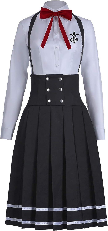 Details about  /Danganronpa V3 Shirogane Tsumugi Cosplay Costume Girls Women School JK Uniform