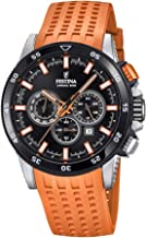 Festina Mens Chronograph Quartz Watch with Silicone Strap F20353/6