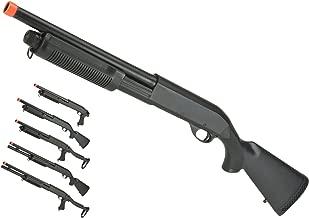 Evike – CYMA Polymer M870 3-Round Burst Multi-Shot Shell Loading Airsoft Shotgun