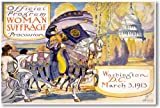 Woman Suffrage Procession Washington DC March 3 1913 - NEW Vintage Poster