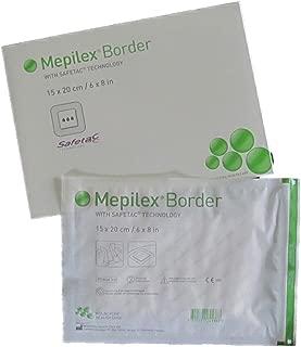 (Pack of 1) Mepilex® Border (6-inch x 8-inch) - Advanced Wound Care Foam Dressing