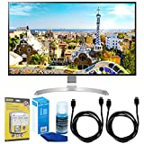 LG (32UD99-W 32' Class 4K UHD IPS LED Monitor with HDR10 w/Accessories Bundle...