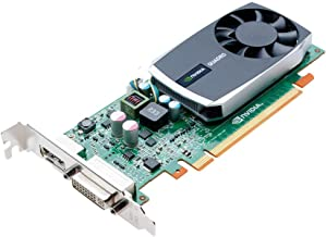 NVIDIA Quadro 600 by PNY 1GB DDR3 PCI Express Gen 2 x16 DVI-I DL and DisplayPort OpenGL, DirectX, CUDA, and OpenCL Professional Graphics Board, VCQ600-PB (Renewed)