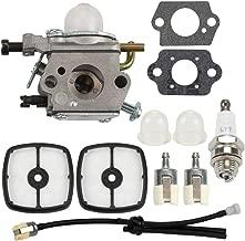 Buckbock PB-200 Carburetor for Echo Blower C1U-K78 PB200 PB201 PB-201 ES-210 ES210 ES211 EB212 SV212 A021000942 A021000943 Shredder with Tune-Up Kit Air Filter