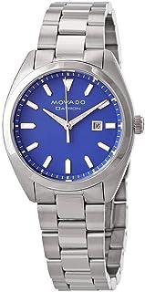 ساعة موفادو هيريتج داترون كوارتز مينا زرقاء للسيدات 3650076
