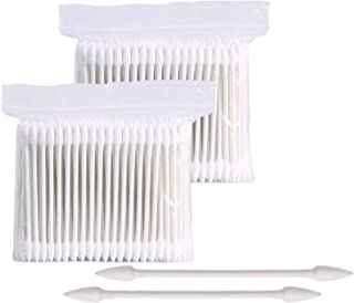 800 Pieces 3 Inch Double Tipped Cotton Swabs Pointed Tip Paper Sticks Cotton Buds Cotton Tipped Applicator