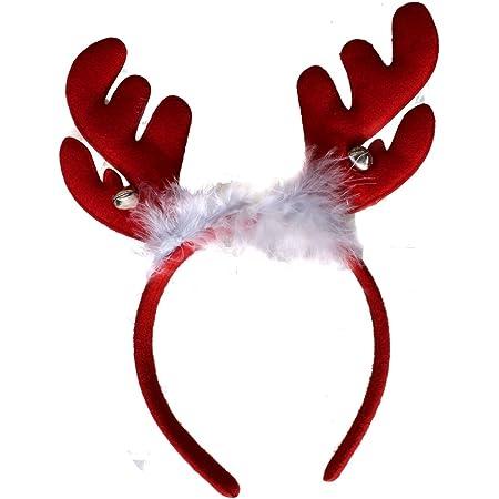 6pcs NOVELTY Christmas Headband Santa HATS OFFICE PARTY DRESS ACCESSORIE Xmas