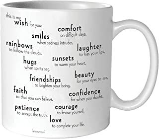 Quotable My Wish For You - Anonymous Mug - Quotes Kitchen Home MUG-G158-QUOTE