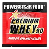PREMIUM WHEY 90   90% Protein i.Tr.   51% CFM Whey Isolat   Protein aus Weidenmilch   Nur 1% Kohlenhydrate   Ideal für Muskelaufbau & Abnehmen   Deutsche Herstellung   30g Probe   Chocolate Nut