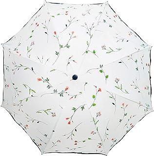 Solparaply damer trippel vikning sommar solsäkra paraplyer UV-skydd Begonia parasoll lätt rosa vindtät 8 ben parasoll för ...