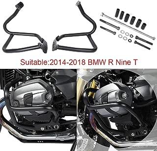 XX eCommerce Motorcycle Motorbike Steel Black Crash Bar Engine Guard Bumper Highways Frame Protector for 2014-2018 BMW R Nine T R9T 2015 2016 2017