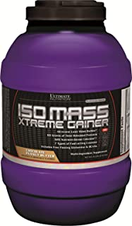 Ultimate Nutrition ISO Mass Xtreme Weight Gainer Protein Isolate Powder with Creatine - Gain Serious Lean Muscle Mass Fast...