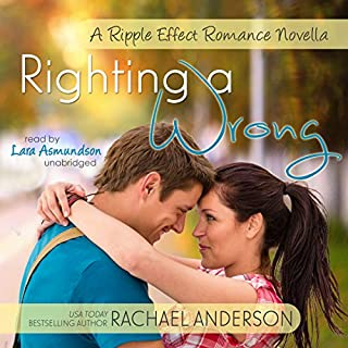 Righting a Wrong audiobook cover art