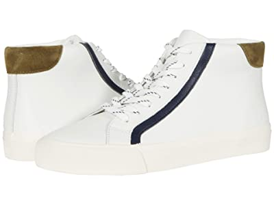 Madewell Sidewalk High Top Sneakers (Yellow/Black/Ivory Novelty Laces) Women