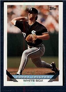 Baseball MLB 1993 Topps #645 Bobby Thigpen White Sox