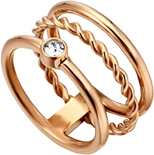 Esprit Loris Ring For Women, Stainless Steel