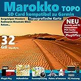 ★ Marokko Morocco Topo GPS Karte...