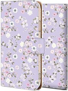 Huawei Nova Lite 3 ケース 手帳型 カバー スマホケース おしゃれ かわいい 耐衝撃 花柄 人気 純正 全機種対応 小群木ピンクの芙蓉紫 アニメ フラワー シンプル 11520361