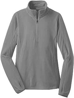 Ladies Microfleece 1/2-Zip Pullover Sweatshirts in Sizes: XS-4XL