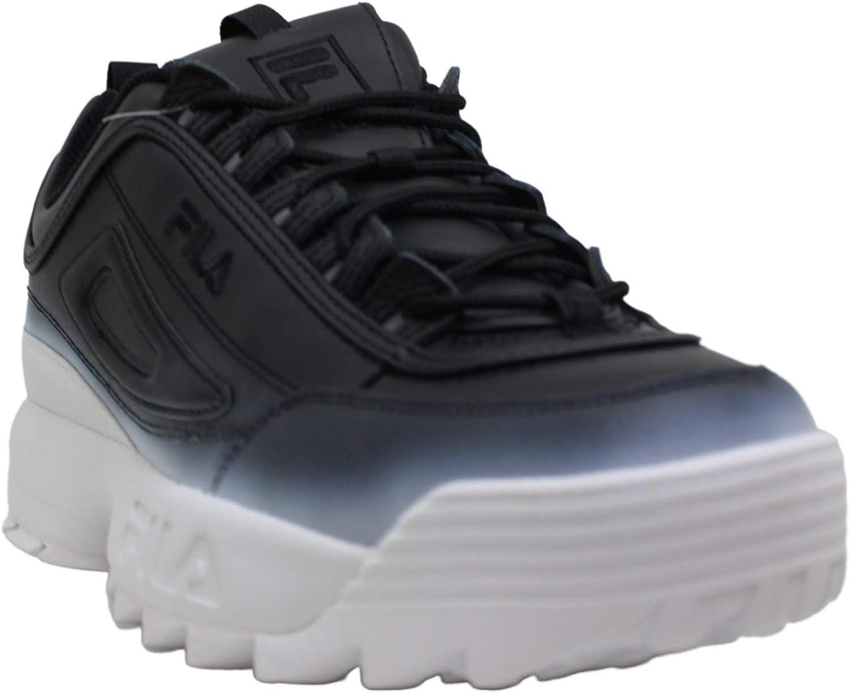 Fila Disruptor Men, Sneakers Basses Homme Noir/blanc