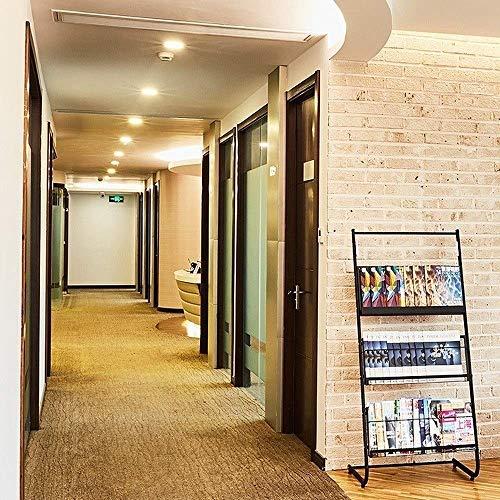 Paquete de 10 luces descendentes giratorias empotradas de 3 W, lámpara de pared de lavado de panel redondo, luces descendentes de ahorro de energía resistentes al fuego, accesorios de iluminación para