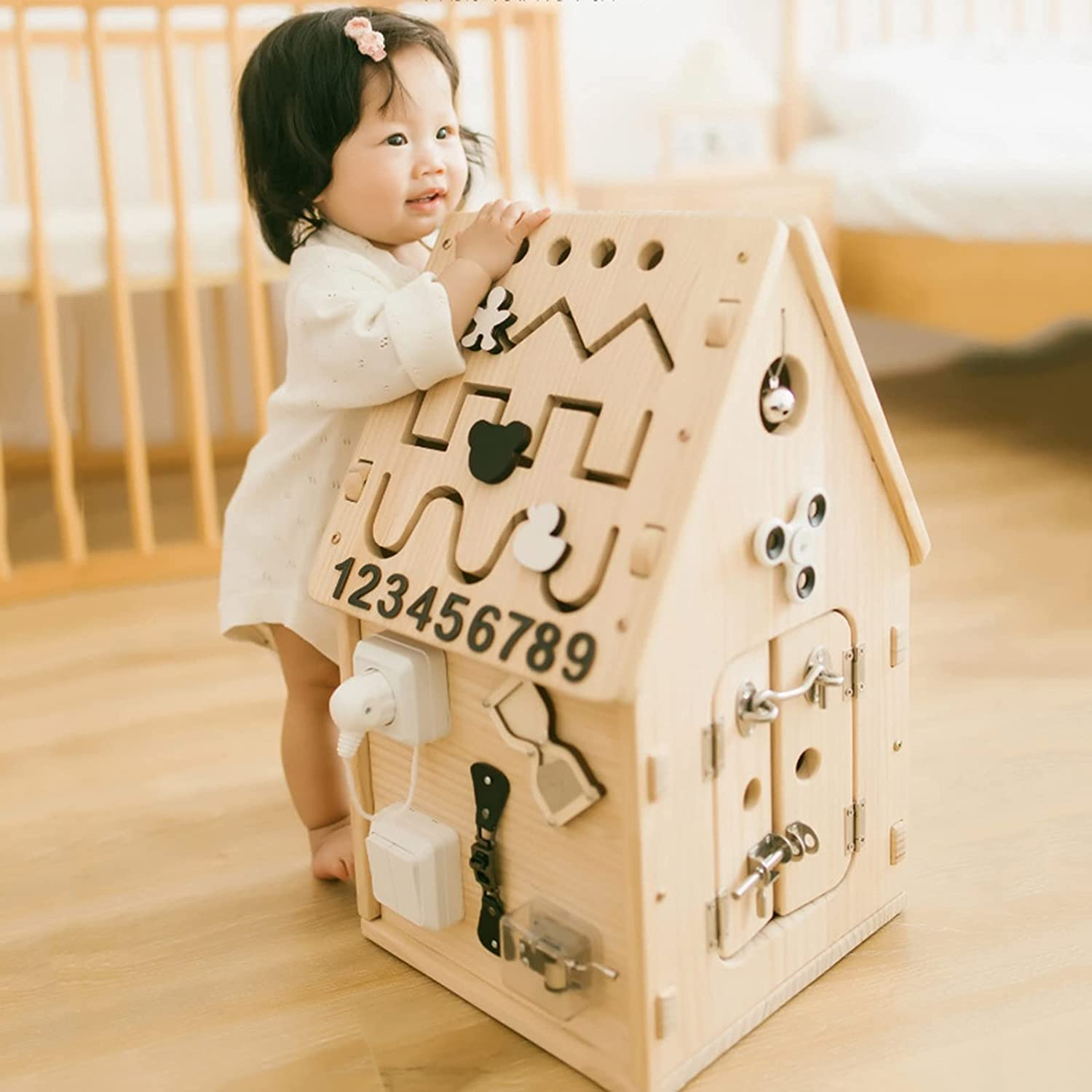 CCCYT Activity Cube Baby Toys Shape Over item handling Directly managed store Sorter Development Early Edu
