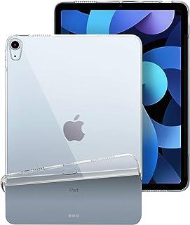 iPad Air 10.9インチ ケース (第4世代) TopACE 超スリム クリア TPU ソフト touch ID対応 ケース 落下防止 指紋防止 耐スクラッチ全面保護 iPad Air4 10.9 ケース 2020 対応 (クリア)