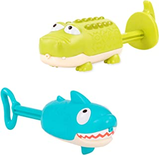 B. Toys by Battat – Splishin' Splash Animal Water Squirts Duo Pack – Summer & Water Toys for Kids 18 M+ (2-Pcs)