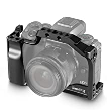 SMALLRIG Cage for Canon EOS M50 and M5 with Integrated Grip and Quick Release NATO Rail 2168