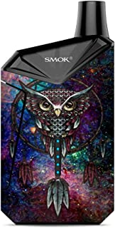 Skin Decal Vinyl Wrap for Smok X-Force AIO Kit | Vape Stickers Skins Cover| Dreamcatcher Owl in Color