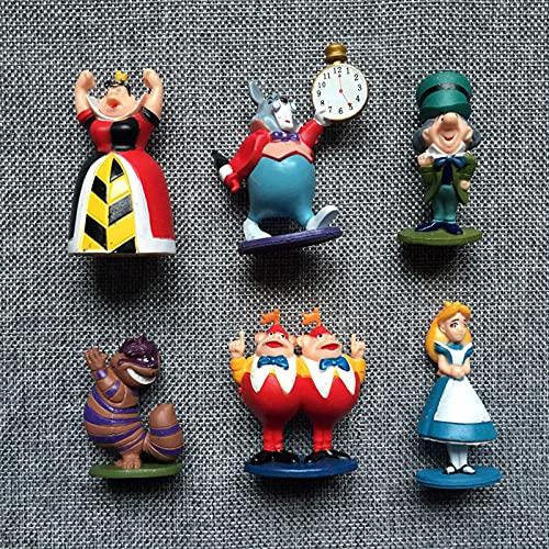Alicia en el país de las maravillas PVC Figura de acción Muñecas...