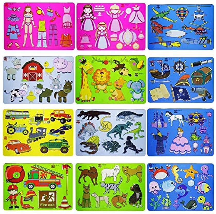Aadya Crafts in Stencil Pencil Mix Design HB Pack of 12