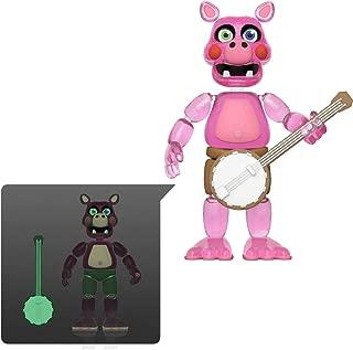 Pigpatch [Glow-in-Dark]: Funko Action Figure Action Figure + 1 Official FNAF Trading Card Bundle (45639)