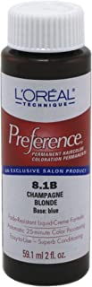 L'Oreal Preference Color # 8.1B Champagne Blonde (3-Pack)
