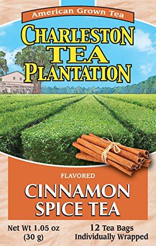 Charleston Tea Plantation Garden Cinnamon Spice Pyramid Tea Bags 105 Ounce SYNCHKG069221