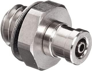SMC M Series Brass Miniature Tube Fitting, Barb Fitting, 2mm Tube OD x 1.2mm Tube ID x M3x0.5