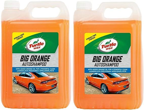 Turtle Wax 52817 Big Orange Autoshampoo Und Waschen 5l Auto