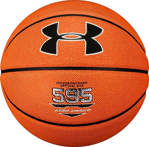 Find Cheap Under Armour 595 Indoor/Outdoor Composite Basketball, Orange, Size 29.5/Official Size/Siz...