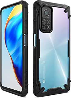 Ringke Fusion-X for Xiaomi Mi 10T Pro 5G / Mi 10T 5G Case Back Cover, [Military Drop Tested] Transparent Hard PC Back TPU ...