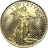 Exquisite Collection of Commemorative Coins United States 25 Dollar America Eagle Bullion Coin 2007 Brass Metal Commemorative Gold Coin Copy Coin Art Souvenir Decorations Replica Discovery Collection