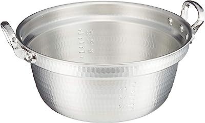 アルミ キング 打出 料理鍋(目盛付)24cm